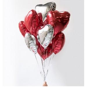 """Набор шаров """"Трепетные сердца"""""""
