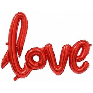 Шар с прописью «Love»