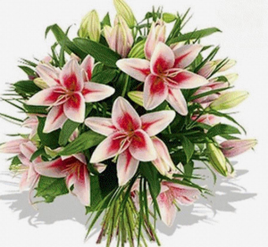 букеты лилии цветы красивые картинки